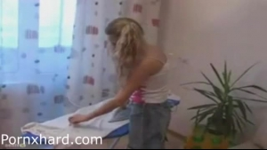 Blonde Teen Forced To Suck Dick