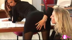 Boss Turns Colleague Into Masturbating Slave