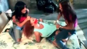 Horny Lesbian Sluts Playing