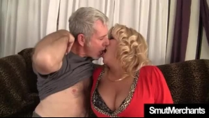 Mature Blonde Woman Is Having Amazing Sex With A Younger Guy She Likes A Lot