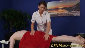 European Masseuse Sucked Some Lucky Client