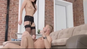 Teen Invasion Whore Facialized By Her Master