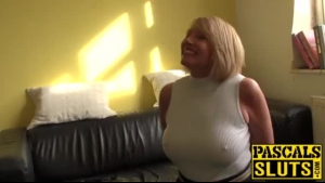 Fat Blonde Mom Be LOVES It In Her Tight Twat All The Time, Especially While Sucking A Meat Pole
