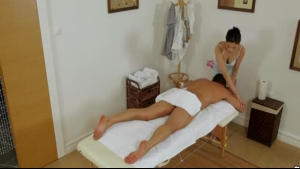 Oriental Masseuse Gets Her Teen Client Abused And Fucked
